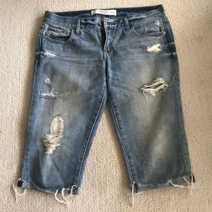Abercrombie and Fitch Capri Jeans, Size 4/27